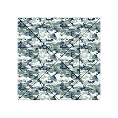Camo Urban Acrylic Tangram Puzzle (4  X 4 ) by trendistuff