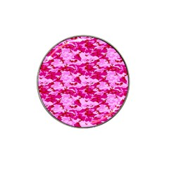 Camo Pink Hat Clip Ball Marker (10 Pack) by trendistuff