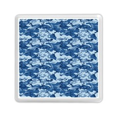 Camo Navy Memory Card Reader (square)  by trendistuff
