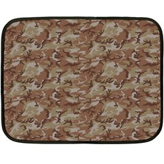 Camo Desert Fleece Blanket (mini) by trendistuff