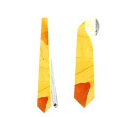 Yellow Maple Leaves Neckties (two Side)  by trendistuff