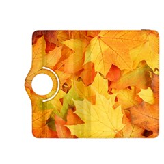 YELLOW MAPLE LEAVES Kindle Fire HDX 8.9  Flip 360 Case by trendistuff