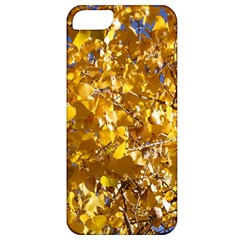 Yellow Leaves Apple Iphone 5 Classic Hardshell Case by trendistuff