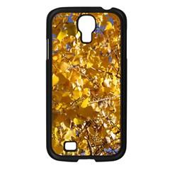 Yellow Leaves Samsung Galaxy S4 I9500/ I9505 Case (black) by trendistuff