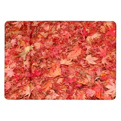 Red Maple Leaves Samsung Galaxy Tab 10 1  P7500 Flip Case by trendistuff