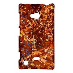 Orange Leaves Nokia Lumia 720 by trendistuff