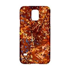 ORANGE LEAVES Samsung Galaxy S5 Hardshell Case  by trendistuff