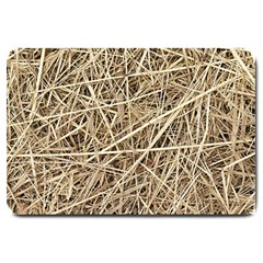 Light Colored Straw Large Doormat  by trendistuff