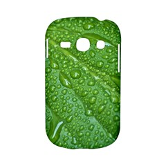 GREEN LEAF DROPS Samsung Galaxy S6810 Hardshell Case by trendistuff
