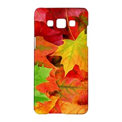 Autumn Leaves 1 Samsung Galaxy A5 Hardshell Case  by trendistuff