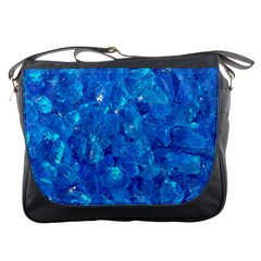 Turquoise Glass Messenger Bags by trendistuff