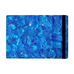 Turquoise Glass Apple Ipad Mini Flip Case by trendistuff
