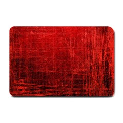 Shades Of Red Small Doormat  by trendistuff