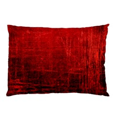Shades Of Red Pillow Cases by trendistuff