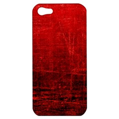 Shades Of Red Apple Iphone 5 Hardshell Case by trendistuff