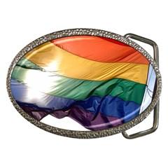 PRIDE FLAG Belt Buckles