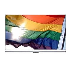 Pride Flag Business Card Holders by trendistuff