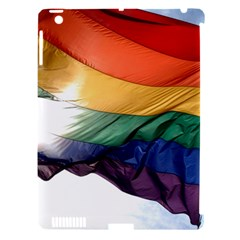 Pride Flag Apple Ipad 3/4 Hardshell Case (compatible With Smart Cover) by trendistuff