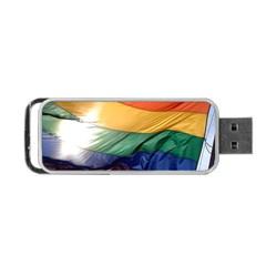Pride Flag Portable Usb Flash (one Side) by trendistuff