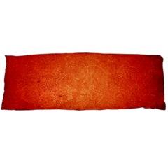 Orange Dot Art Body Pillow Cases Dakimakura (two Sides)  by trendistuff