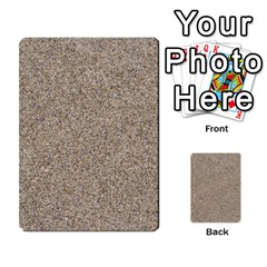 LIGHT BEIGE SAND TEXTURE Multi-purpose Cards (Rectangle)  by trendistuff