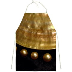 Golden Pearls Full Print Aprons by trendistuff