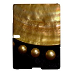 Golden Pearls Samsung Galaxy Tab S (10 5 ) Hardshell Case  by trendistuff