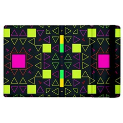 Triangles And Squares Apple Ipad 2 Flip Case by LalyLauraFLM
