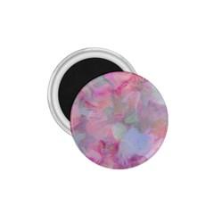 Soft Floral Pink 1 75  Magnets by MoreColorsinLife