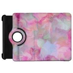 Soft Floral Pink Kindle Fire Hd Flip 360 Case by MoreColorsinLife