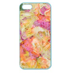 Soft Floral,roses Apple Seamless iPhone 5 Case (Color) by MoreColorsinLife