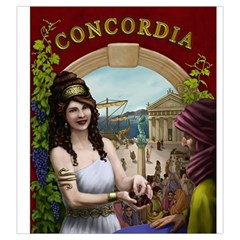 Concordia Salsa Tile Bag Regular Cover By Thomas Covert   Drawstring Pouch (large)   Qpnpiwusn9cq   Www Artscow Com Back