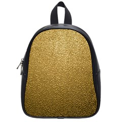 Gold Plastic School Bags (small)  by trendistuff