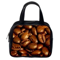 Chocolate Coffee Beans Classic Handbags (one Side) by trendistuff