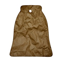 BROWN PAPER Bell Ornament (2 Sides) by trendistuff