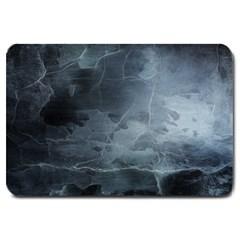 Black Splatter Large Doormat  by trendistuff