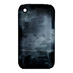 Black Splatter Apple Iphone 3g/3gs Hardshell Case (pc+silicone) by trendistuff