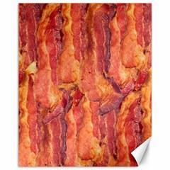 Bacon Canvas 11  X 14   by trendistuff