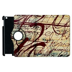 Abstract 2 Apple Ipad 3/4 Flip 360 Case by trendistuff