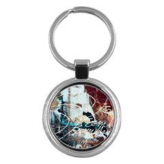 ABSTRACT 1 Key Chains (Round)  by trendistuff