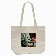 Abstract 1 Tote Bag (cream)  by trendistuff