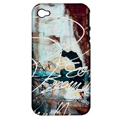 Abstract 1 Apple Iphone 4/4s Hardshell Case (pc+silicone) by trendistuff