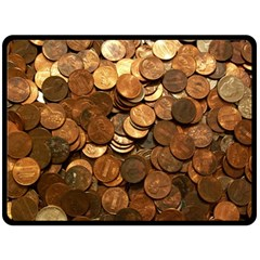 US COINS Double Sided Fleece Blanket (Large)  by trendistuff