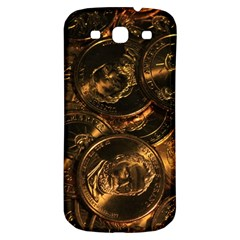 Gold Coins 2 Samsung Galaxy S3 S Iii Classic Hardshell Back Case by trendistuff