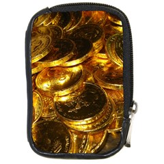 Gold Coins 1 Compact Camera Cases by trendistuff