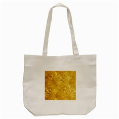 Gold Tote Bag (cream)  by trendistuff