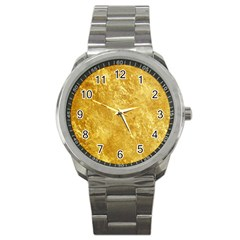 Gold Sport Metal Watches by trendistuff