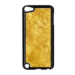 Gold Apple Ipod Touch 5 Case (black) by trendistuff