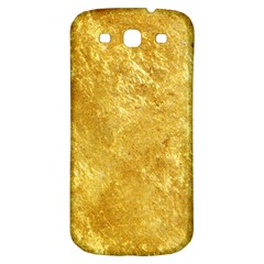 Gold Samsung Galaxy S3 S Iii Classic Hardshell Back Case by trendistuff