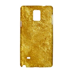 Gold Samsung Galaxy Note 4 Hardshell Case by trendistuff